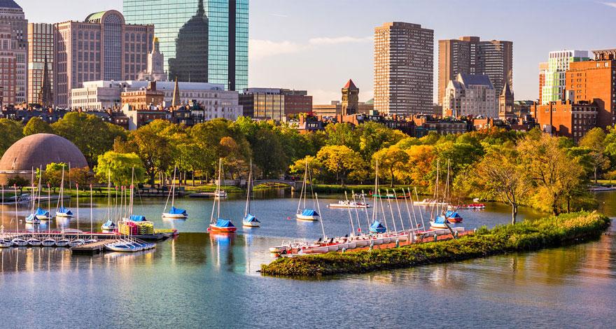 تحصیل در بوستون