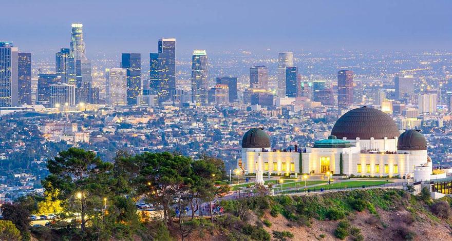 تحصیل در لس آنجلس