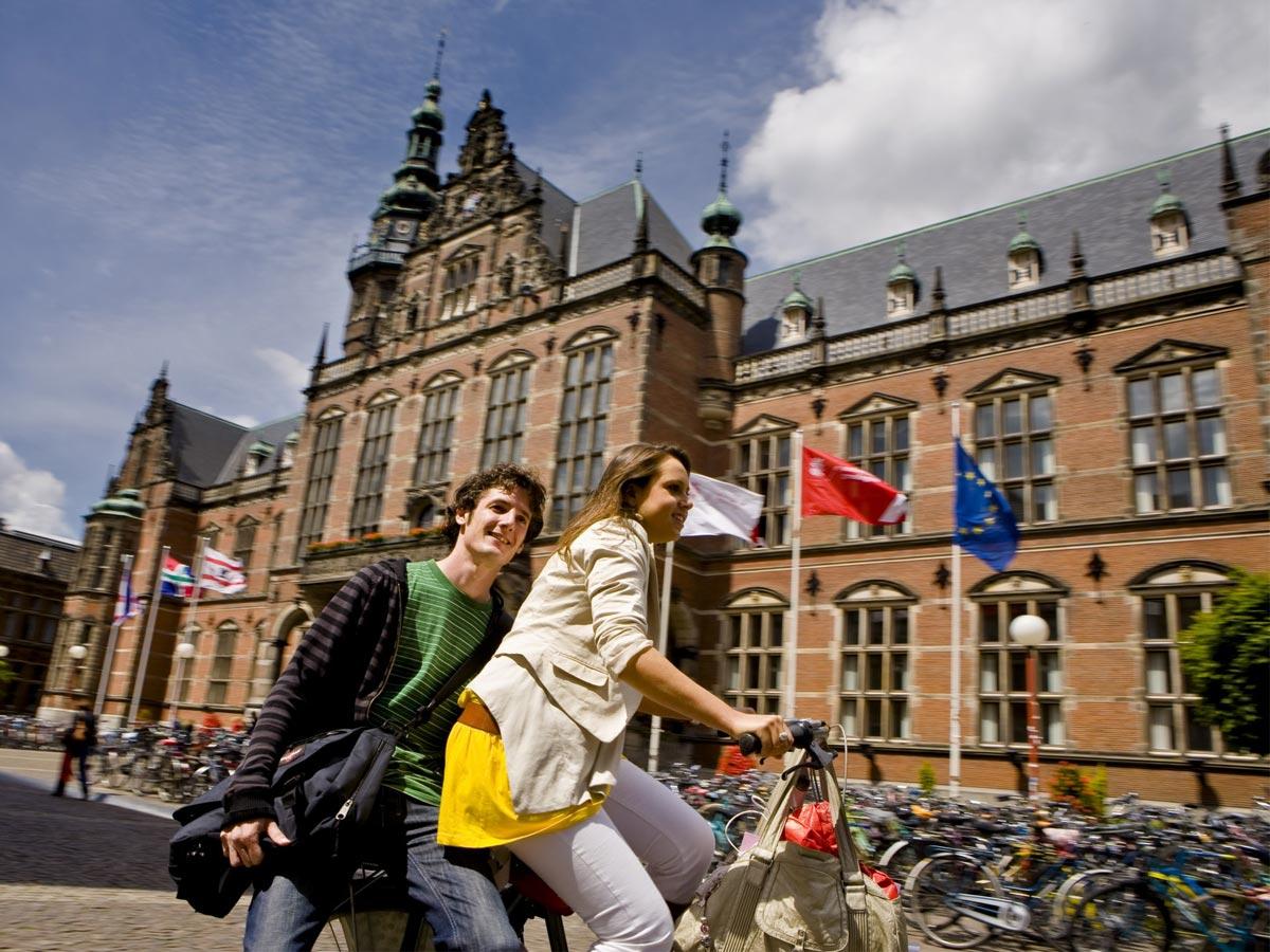 تحصیل در دانشگاه گرونینگن