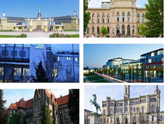 لیست دانشگاه های آلمان به انگلیسی
