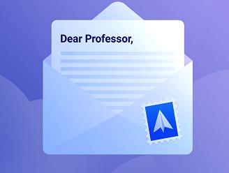 ایمیل رسمی به استاد